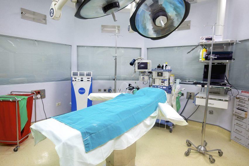 Ziekenhuis bed, verwijst naar prevalidatie